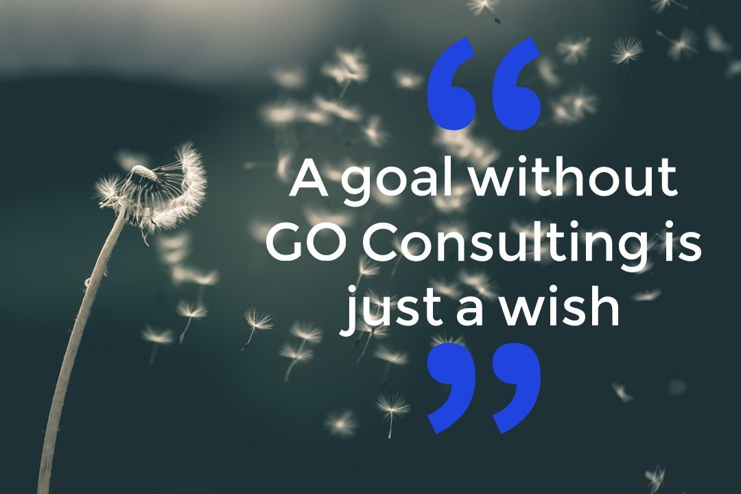 A goal without GO Consulting is just a wish